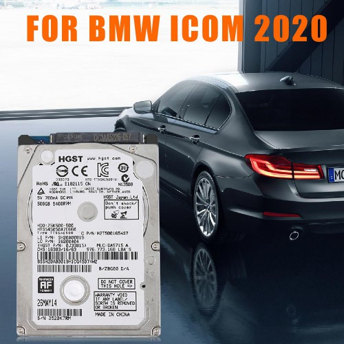 WiFi BMW ICOM NEXT A + B + C with V2021.01 Software HDD Supports English,German,Spanish,Russian