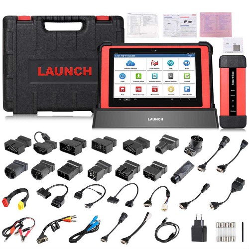 100% Original Global version Launch X431 PAD V (PAD 5) Diagnostic Tool with Smart Box 3.0 Support Online programming +26 service functions