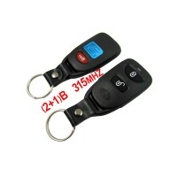 (2+1) Remote Key 315MHZ Free Shipping for Hyundai Santa Fe