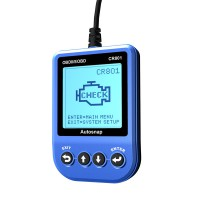 CR801 OBDII/EOBD Code Reader Blue (Last one Stock,Clearance Price)