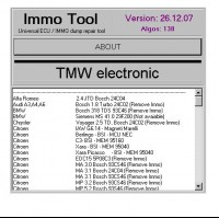 IMMO Tool V26.12.2007 New version Free Shipping