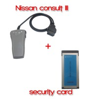 Nissan Consult III + Nissan Security Card for Immobilizer