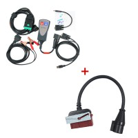 Lexia-3 Citroen/Peugeot Diagnostic P+ Lexia-3 30 pin cable (round interface)