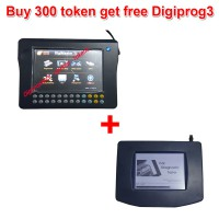 Get Free Digiprog 3 Main unit and OBD Cable if Buy 300 Tokens for Digimaster 3/CKM100/CKM200