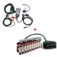 Lexia-3 Citroen/Peugeot Diagnostic + Lexia-3 30 pin cable (square interface)