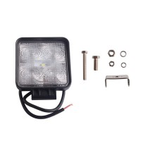 2pcs 15W 12V 24V flood LED Work Light OffRoad Flood Jeep Boat Truck IP67