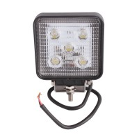 2pcs 15w Full Beam LED Work Light Worklight Bright White 12V 4WD