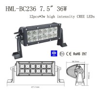 "7.5"" 36W Led light bar FLOOD light SPOT light WORK light off road light 4wd boat White"