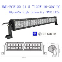24'' 21.5 Inch 120w CREE Led light bar 12 Degree SPOT light Off Road Work Light 4wd Boat White 12V 24V