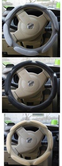 Auto Car Truck Grid Style Steering Wheel Cover Brand New Fashion Practical
