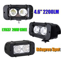 2013 20W CREE Led light bar FLOOD light SPOT light WORK light off road light 4wd boat white