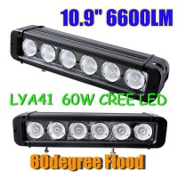 "10.9"" 60W CREE Led light bar FLOOD light SPOT light WORK light 12V-24V"