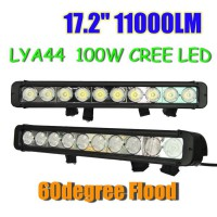 100W CREE Led light bar FLOOD light SPOT light WORK light 12V~24V