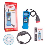 JOBD/OBD2/EOBD color display auto scanner T80 For Japanese/European cars
