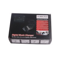Hot Sale USB+SD MP3 Adapter (2x6Pin) for Toyota
