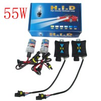 High Quality 55W 12V Super HID Xenon Slim Ballast Kit H4 3000K