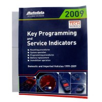 Car Key Programming and Service Indicator Book Hotsale