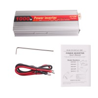 1000W USB Car Power Inverter DC 12V to AC 220V