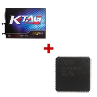 KTAG K-TAG ECU Programming Tool Plus CPU Repair Chip with 60 Tokens