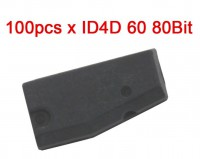 100 pcs/lot  ID4D(60) Transponder Chip (80Bit) Blank