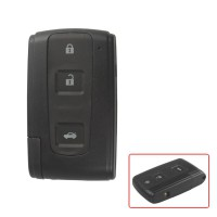 Smart Key Shell 3Button (with the key blade) for Toyota Crown Hotsale
