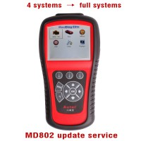Autel MaxiDiag MD802 Update Service from 4 Systems to All Systems