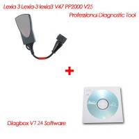 Best Quality Lexia-3 PP2000 for Peugeot/Citroen Diagnostic Tool with a  Diagbox V7.24 Software free