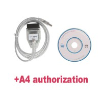 Buy KM+IMMO TOOL for V-A-G get Authorization of AUDI A4 RB8 for free