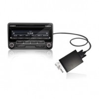 ISO 8Pin USB+SD MP3 Adapter High quality for Audi