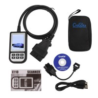 V4.7 Creator C110 Code Reader for BMW with 20Pin to obd2 16 Pin Connector