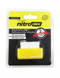 Plug and Drive NitroOBD2 Performance Chip Tuning Box for Benzine/Diesel Cars