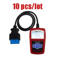 Free Shipping from USA Original VXSCAN S1 EOBD OBDII DIY Code Reader 10pcs/lot