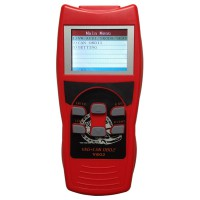V-Scan V-A-G +CAN OBDII V802 Professional Car Diagnostic Tool with Colorful LCD Display