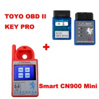 Smart CN900 Mini + TOYO KEY OBD II KEY PRO