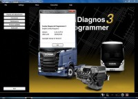Version 2.31.1 Scania VCI 2 SDP3 Scania Diagnos & Programmer 3  Newest Version Software for Trucks/Buses  Supports Win7 Win8 Win10