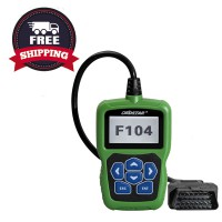 OBDSTAR F104 Key Programmer for Chrysler, Jeep, Dodge with Odometer and Pin Code Reader Function