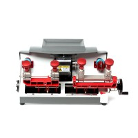 2017 High Quality Jingji P2 Double-headed Flat Key Cutting Machine 220V