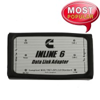 [11-11 Sale ] Cummins INLINE 6 Data Link Adapter Insite 8.2 Diagnostic Tool for Cummins Diesel Engine