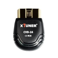 XTUNER CVD-16 Heavy Duty and Passenger Car Diagnostic Tool 12V/24V Truck Car OBD EOBD Scanner Support Bluetooth work for Android System