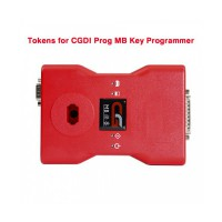 Tokens for CGDI Prog MB Benz Car Key Programmer 180 Days Period (Up to 4 Tokens Each Day)