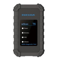 EUCLEIA wiScan T6 Diagnostic Tool Wireless VCI for TabScan S7W/ TabScan S8 support J2534