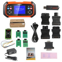 [Ship From US] OBDSTAR X300 PRO3 Key Master Full Package Configuration with Immobiliser+ Odometer Adjustment+ EEPROM/PIC+OBD2
