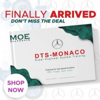 Moe Diatronic DTS MONACO Super Engineer System Training Book Guide For Use Mercedes Benz,Coding and SCN coding