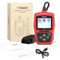 [ Ship From US, No Tax] VIDENT iEasy300 CAN OBDII/EOBD Code Reader Life time FREE software and firmware updates