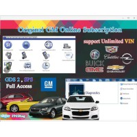 One Year Original GM Online Subsription Work with GM MDI/GM Tech2/VCMII