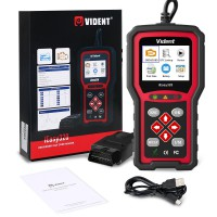 [ Ship From US, No Tax]  VIDENT iEasy320 OBDII/EOBD+CAN Code Reader Life Time Free Software And firmware updates