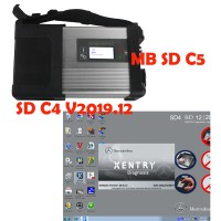 MB SD Connect Compact 5(SD C4) Star Diagnosis with WIFI +SD C4 V2019.12 HDD Software DELL 500G