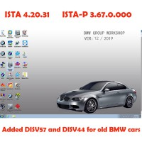 Latest V2019.12 BMW ICOM Software ISTA 4.20.31 ISTA-P 3.67.0.000 with Engineers Programming Windows 7 System