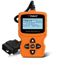 [Ship From US] VIDENT iEasy200 OBDII/EOBD+CAN Code Reader for Vehicle Checking Engine Light Car Diagnostic Scan Tool