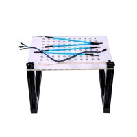 [UK SHIP] LED BDM Frame With 4 Probes Mesh Full Sets Works for Fgtech BDM100 Kess Ktag ECU Programmer